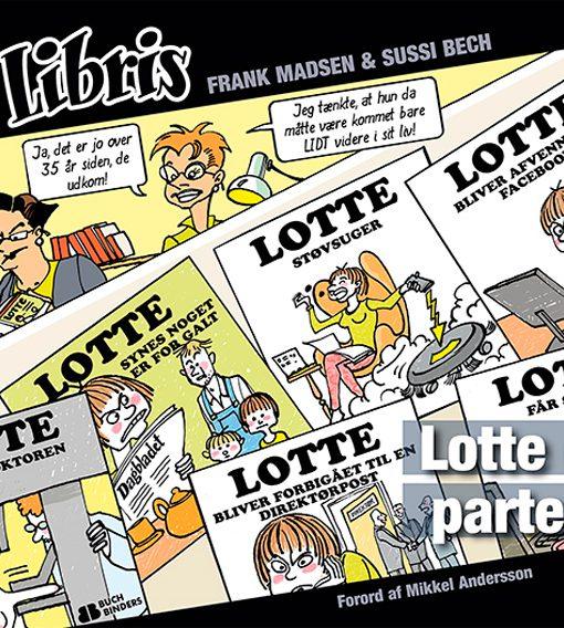 Eks Libris 4 Lotte går til parterapi af Frank Madsen og Sussi Bech – tegneserier