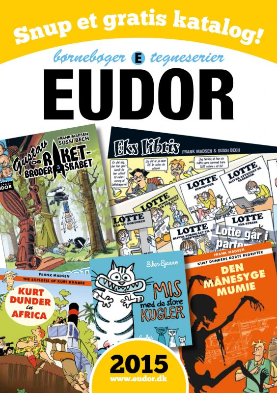 Forlaget Eudors 2015 katalog. Download eller få det sendt med posten!