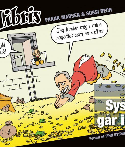 Eks Libris 6 Finn Sysholm går i sort af Frank Madsen og Sussi Bech – tegneserier