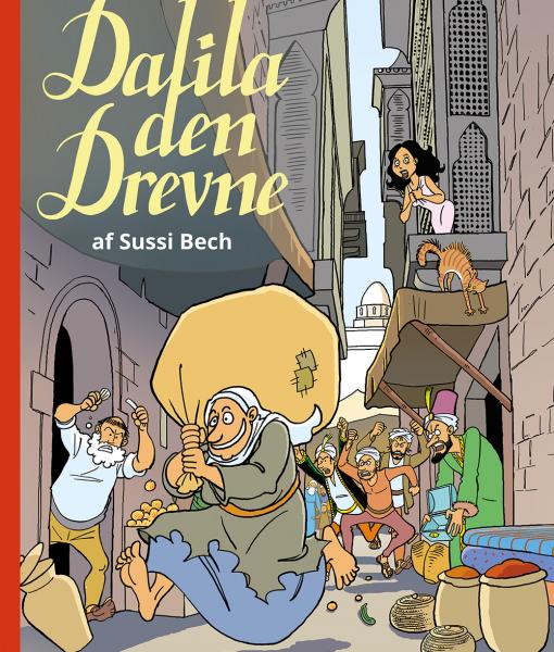 Dalila den Drevne af Sussi Bech – tegneserier