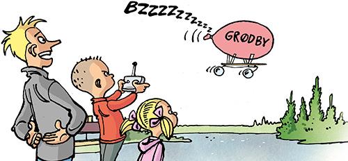 Byg en ballon-drone