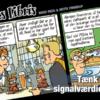 Eks Libris 2 Tænk på signalværdien! af Sussi Bech og Mette Finderup - tegneserier