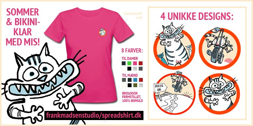 Besøg vores butik på Spreadshirt i dag!