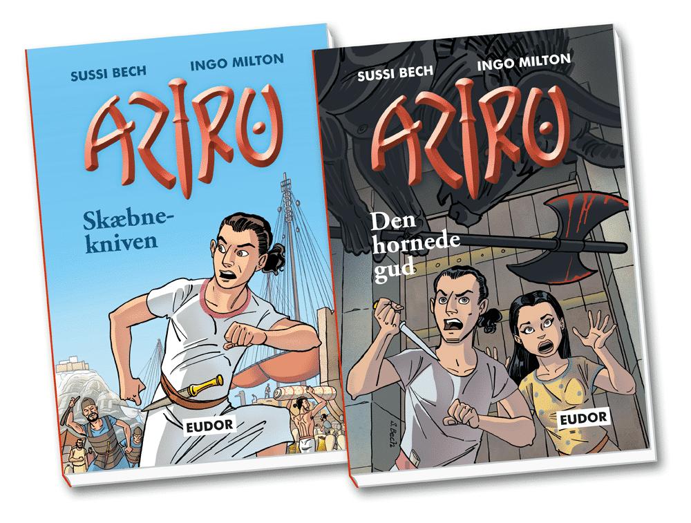 kapitelbøger - Aziru bind 1 og 2