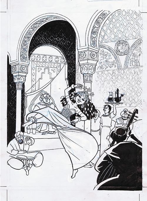 1001 nat - Dalila den Drevne side 119