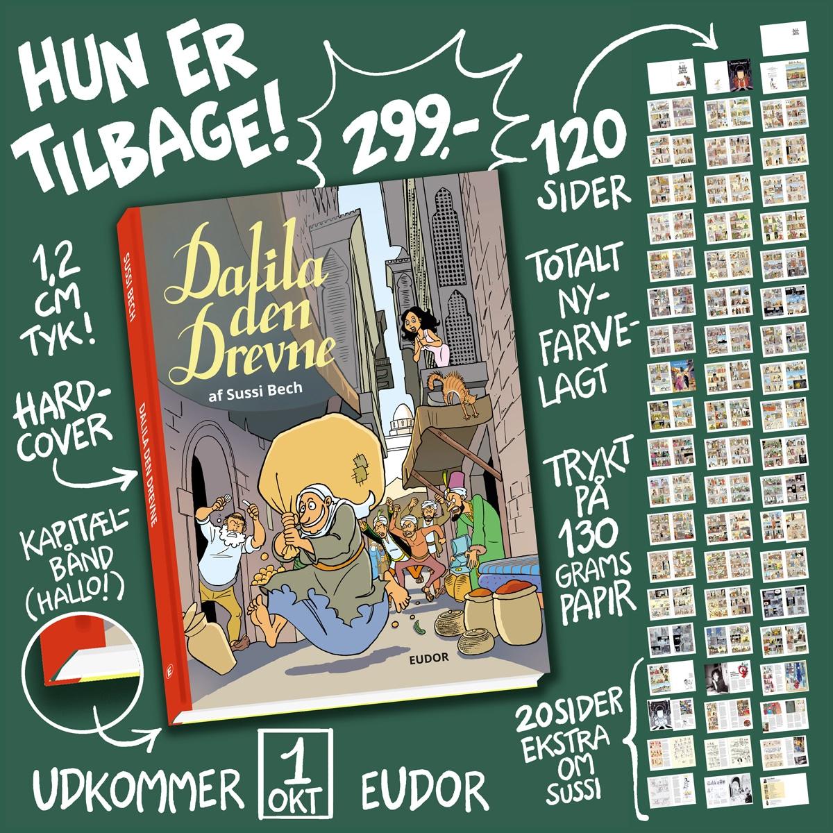 1001 Nat tegneserie: Dalila den Drevne i luksusudgave