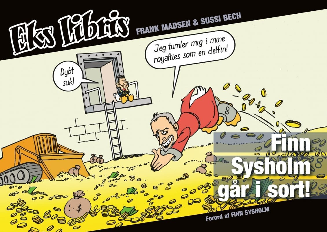Eks Libris - sjove tegneserier til voksne