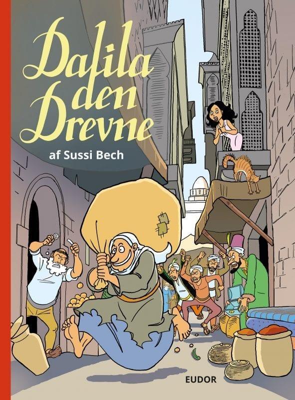 Dalila den Drevne - sjove tegneserier til børn, unge og voksne