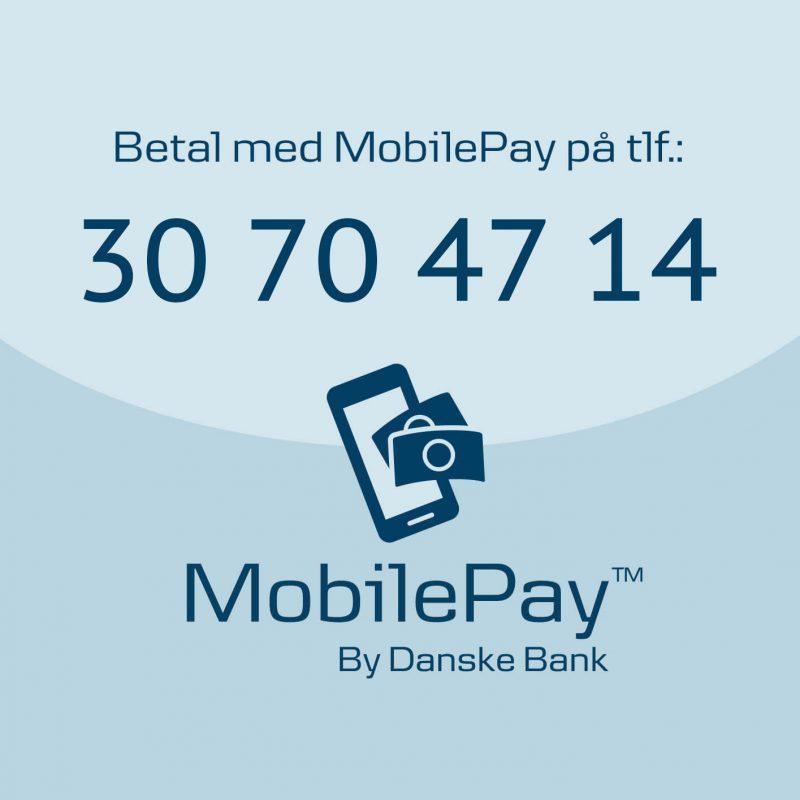 MobilePay betaling på vores webshop — Forlaget Eudor