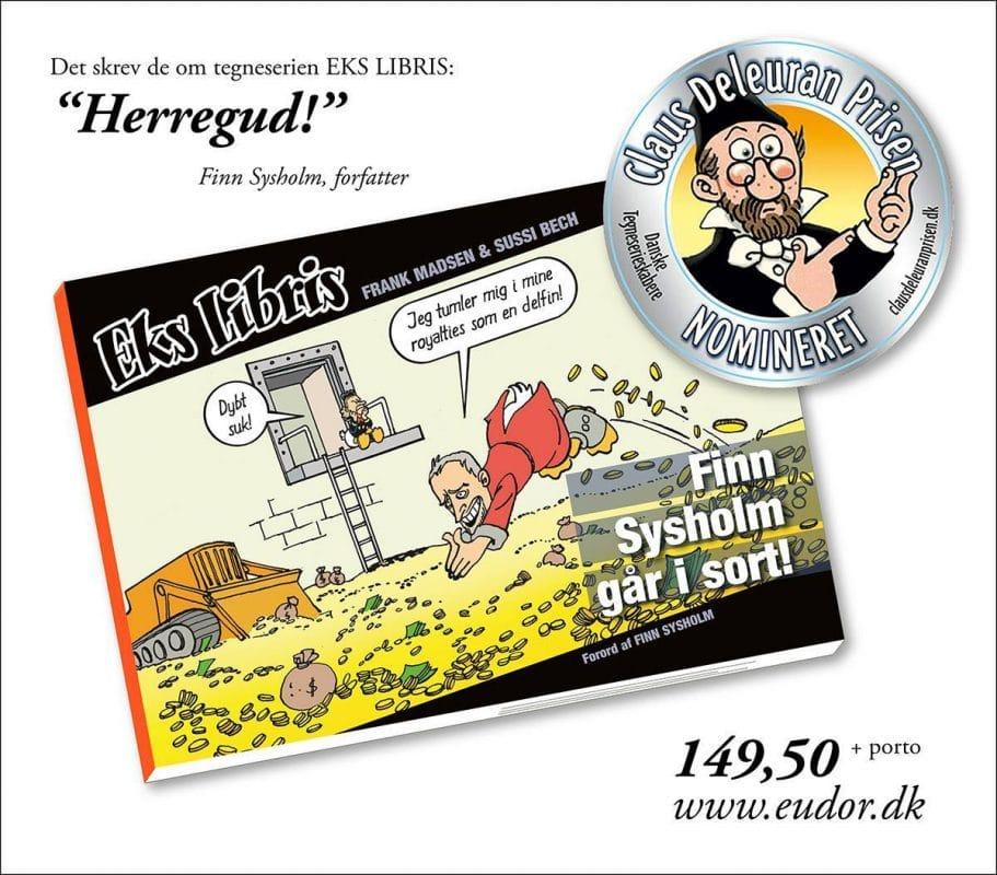 Eks Libris nomineret til Claus Deleuran Prisen