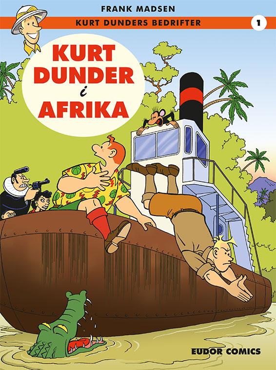 ebøger for børn - Kurt Dunder i Afrika