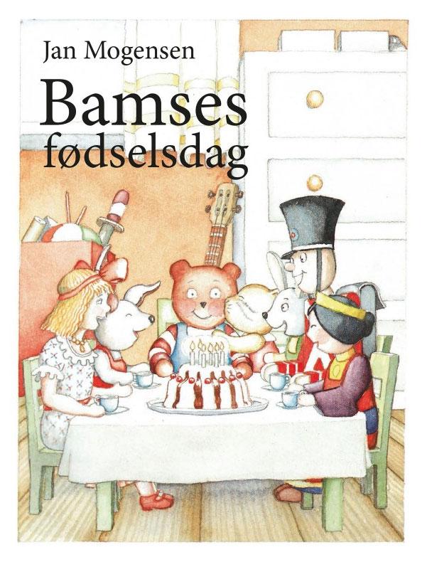 ebog billedbog for de mindste - jan mogensen bamses fødselsdag