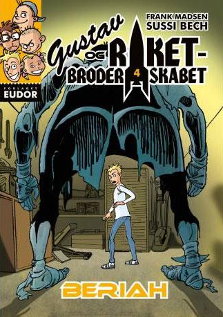Ebøger for børn - Gustav og raketbroderskabet 4: Beriah