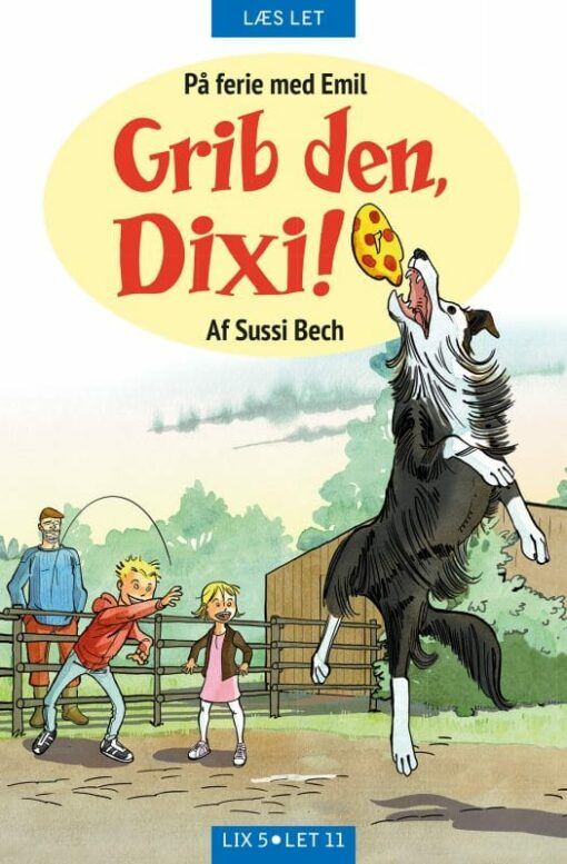 Læs let Grib den Dixi - klassiske bøger til børn