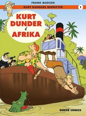 Kurt Dunder - sjove tegneserier til børn, unge og voksne