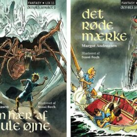 Fantasybøger Den Blå Amulet - klassiske bøger til børn