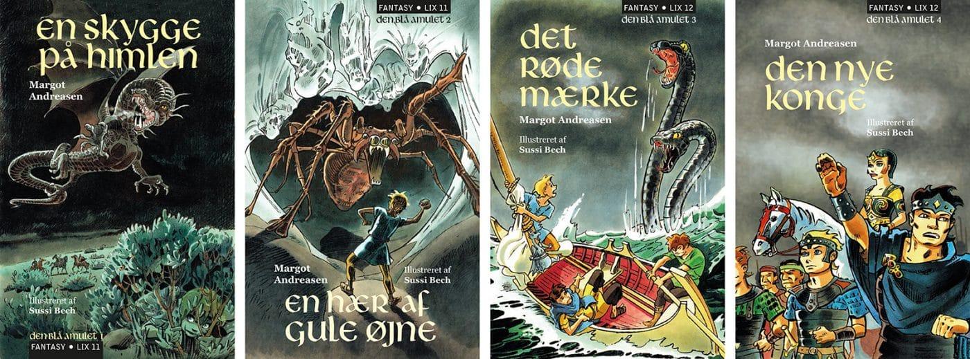 Fantasybøger Den Blå Amulet