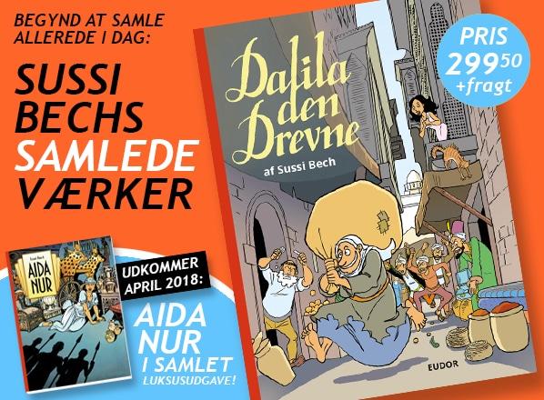 Aida Nur tegneserie af Sussi Bech