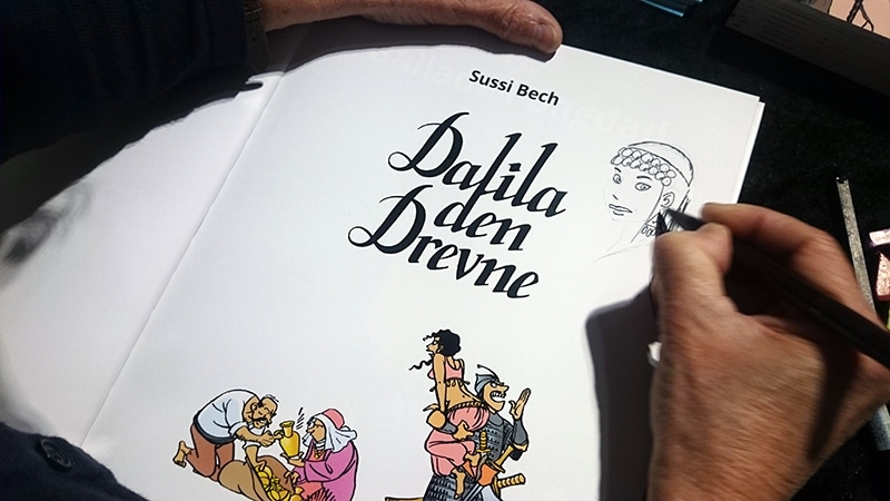 Sussis ungdomsværk, Dalila den Drevne.