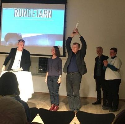 Hanne Hansen Prisen til Sussi Bech og Frank Bruun Madsen