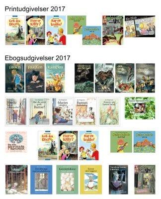 Bogudgivelser i 2017