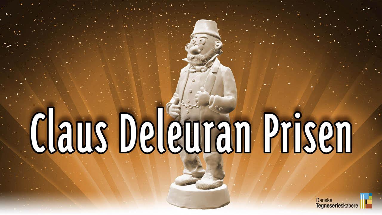 Frank Madsen og Eks Libris nomineret til Claus Deleuran prisen