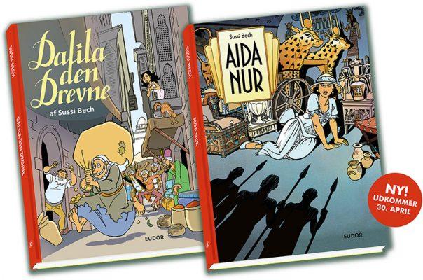 Aida Nur Dalila den Drevne Sussi Bech samlede værker