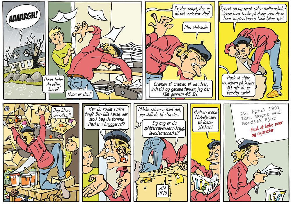 Gratis tegneserie - Eks Libris bind 1