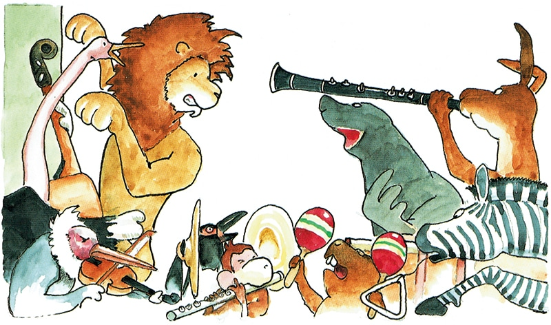 Zuccinis-Dyre-orkester