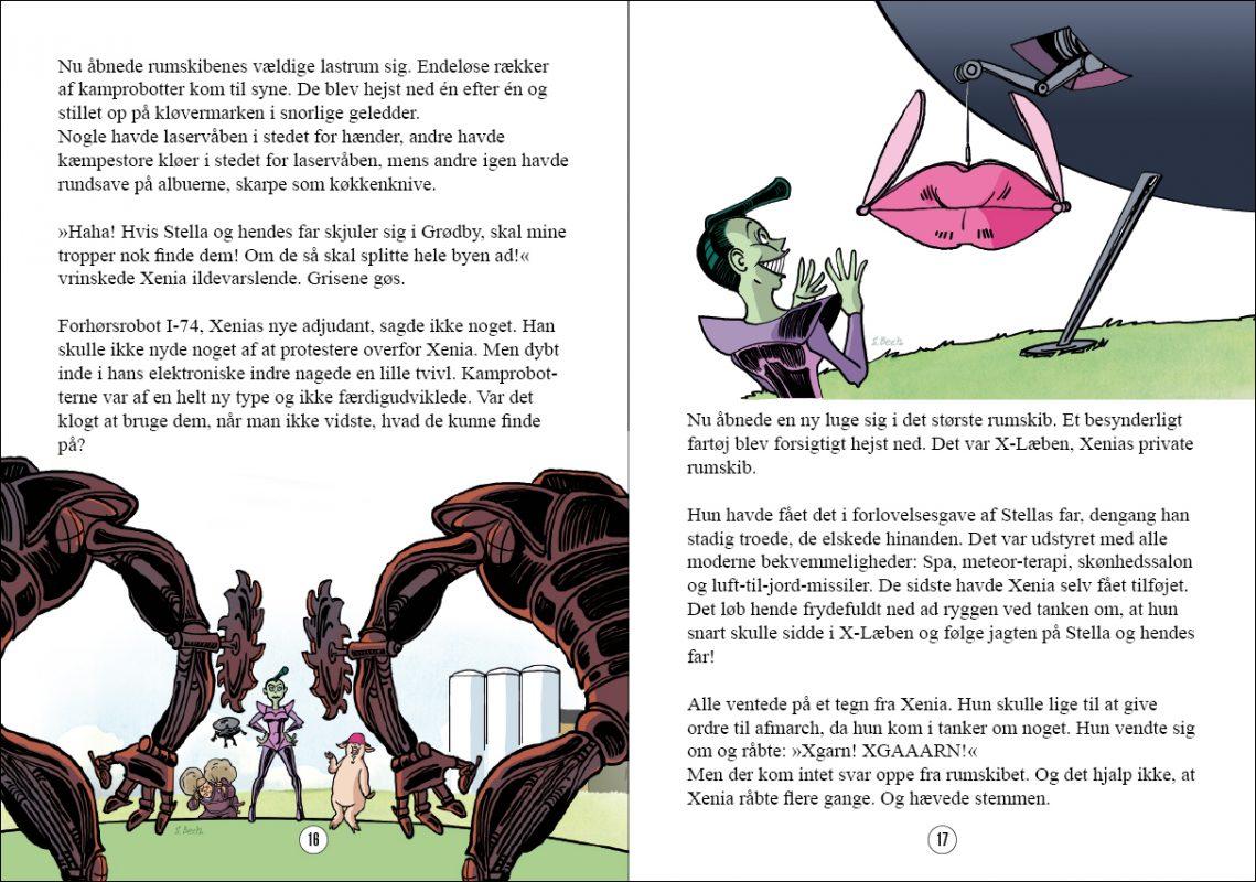 """Opslag fra bind 8, """"Klapjagt""""."""