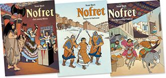 nofret-tegneserie-album-4-5-6