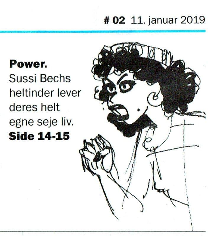 Anmeldelse af Sussi Bechs Samlede Værker i Weekendavisen Bøger af Søren Vinterberg