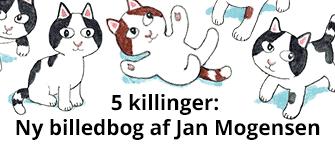 5 killinger ny dansk billedbog af Jan Mogensen