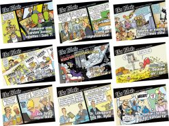 Eks Libris tegneserien bind 1-9