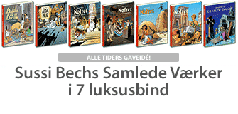 Sussi-Bechs-Samlede-Vaerker-i-7-luksusbind-tegneserier-tegneserie-nofret