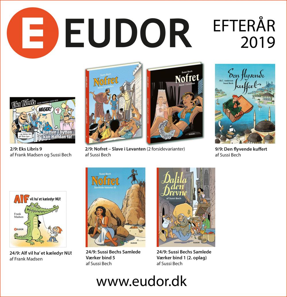 Efteråret 2019 - Masser af nye tegneserier og billedbøger