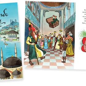 Den flyvende kuffert - ny billedbog af Hans Christian Andersen og Sussi Bech