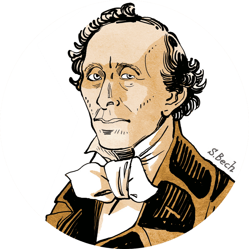 Hans Christian Andersen by Sussi Bech