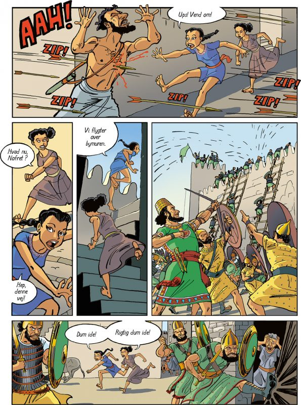 Nofret Slave i Levanten af Sussi Bech Jakob Stegelmann Troldspejlet
