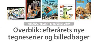 Overblik: efterårets nye tegneserier og billedbøger