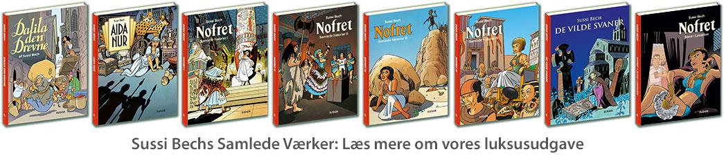 Sussi-Bechs-Samlede-Værker-tegneserie-egypten