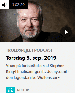 Jakob Stegelmann - Troldspejlet Podcast 5. september 2019
