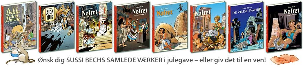 tegneserie tegneserier Sussi Bechs Samlede Værker Nofret jul 2019