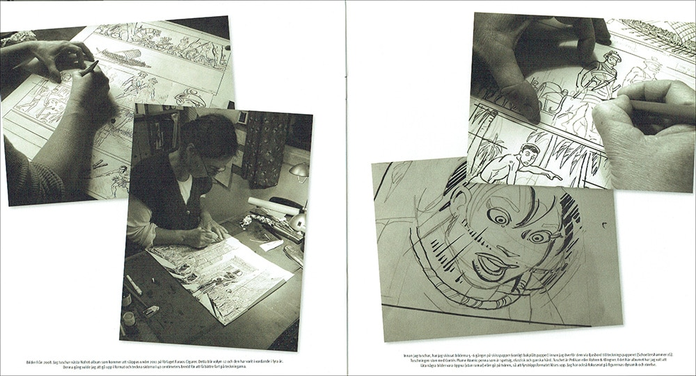 Sussi-Bech-Seriefrämjandet-teckningar-och-skisser-opslag