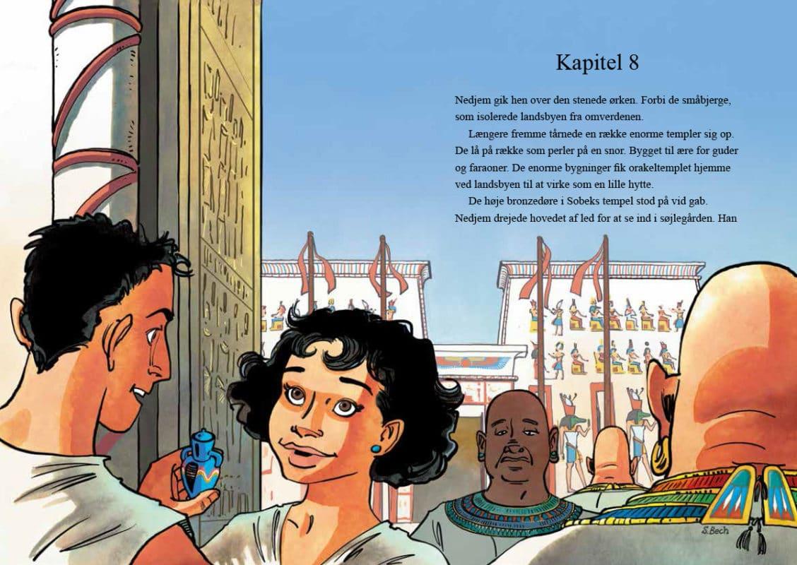 Gravrøverens lærling - thriller kærlighedshistorie - det gamle egypten kongernes dal farao mumier - sussi bech