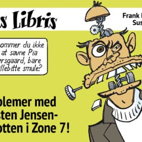 Eks Libris 1 e-bog EPUB Problemer med Carsten Jensen-robotten i Zone 7!