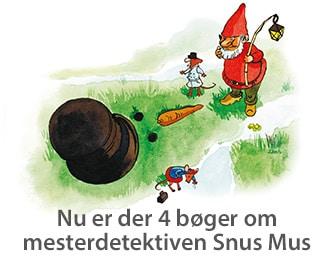 Billedbog for børn 4 år højtlæsning Snus Mus