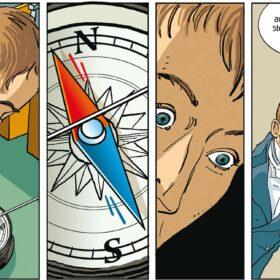 Hans Christian Ørsted He electrified the world electromagnetism comics graphic novel bande dessinee