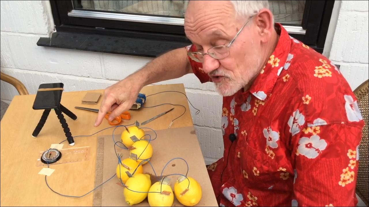 ørsted-forsøg-elektromagnetisme-citronbatteri