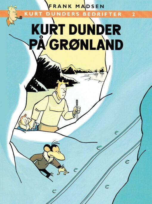 kurt dunder på grønland af frank madsen tegneserie tegneserier